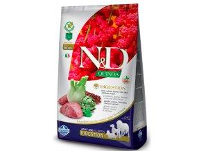 N&D GF Quinoa DOG Digestion Lamb & Fennel 7 kg na aaagranule.cz