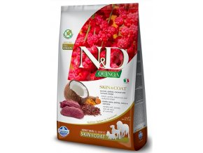 N&D GF Quinoa DOG Skin&Coat Venison & Coconut 7kg na aaagranule.cz