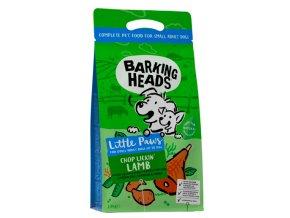 BARKING HEADS Chop Lickin' Lamb (Small Breed) 4kg na aaagranule