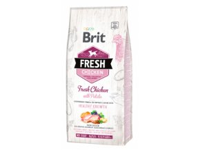 BRIT Fresh Chicken with Potato Puppy Healthy Growth 12kg na aaagranule.cz