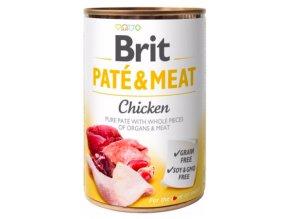 Brit Dog konz Paté & Meat Chicken 400g na aaagranule.cz