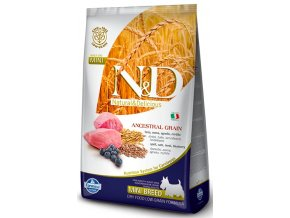N&D Low Grain DOG Adult Mini Lamb & Blueberry 7kg na aaagranule.cz