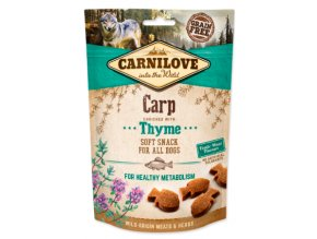 Carnilove Semi Moist Carp with Thyme 200g na aaagranule.cz