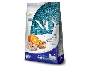 N&D Ocean Dog LG Adult Mini Codfish and Orange 7 kg na aaagranule.cz
