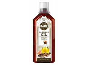 Canvit BARF Cod Liver Oil 500 ml na aaagranule.cz