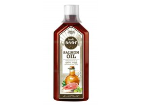 Canvit BARF Salmon Oil 500 ml na aaagranule.cz