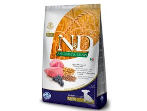 N&D Low Grain DOG Puppy Mini Lamb & Blueberry 7kg na aaagranule.cz