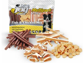 Calibra Joy Dog Multipack Fish and Chicken Mix 4x70g NEW na aaagranule
