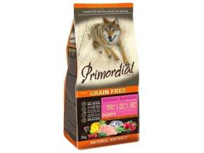 Primordial Grain Free Puppy Chicken and Sea Fish 12 kg