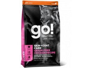 GO! Skin and Coat Grain Free Chicken Dog Food 11,4kg na aaagranule