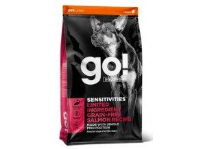 GO! Sensitivities LID Salmon Dog Food 10kg na aaagranule