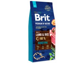 Brit Premium by Nature Sensitive Lamb 15 kg na aaagranule.cz