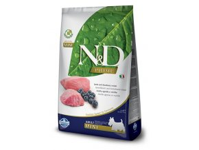N&D PRIME DOG Adult Mini Lamb & Blueberry 7kg na aaagranule