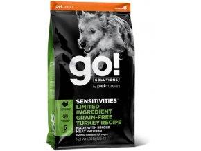 GO! Sensitivities LID Turkey Dog Food 10kg na aaagranule