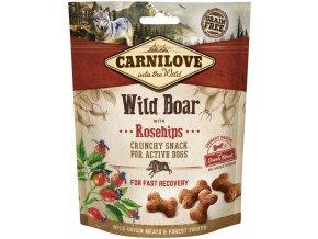 Carnilove Dog Crunchy Snack Wild Boar with Rosehips 200g na aaagranule