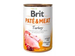 Brit Dog konz Paté & Meat Turkey 400g na aaagranule