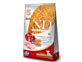N&D LG DOG Puppy Mini Chicken & Pomegranate 7kg na aaagranule