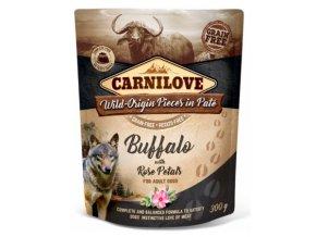 Carnilove Dog Pouch Paté Buffalo & Rose Petals 300g na aaagranule