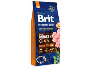 Brit Premium by Nature Senior S+M 15 kg na aaagranule.cz