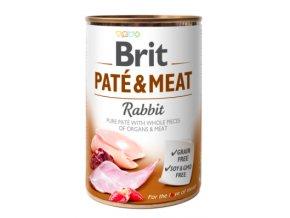 Brit Dog konz Paté and Meat Rabbit 400g na aaagranule