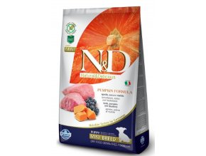 N&D GF Pumpkin Dog Puppy Mini Lamb&Blueberry 7 kg na aaagranule.cz