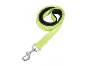 Vodítko pes SOFT NYLON zelené 20mm:1m Zolux na aaagranule