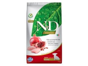 N&D PRIME DOG Puppy Mini Chicken & Pomegranate 2,5kg na aaagranule