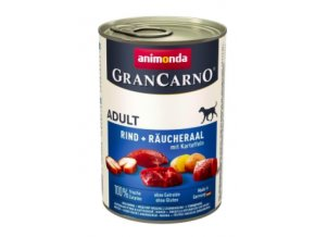 Animonda GRANCARNO konz. ADULT úhoř:brambor na aaagranule