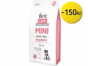 Brit Care Mini Grain Free Puppy 7 kg na aaagranule