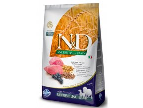 N&D LG DOG Adult M:L Lamb & Blueberry 12kg na aaagranule.cz