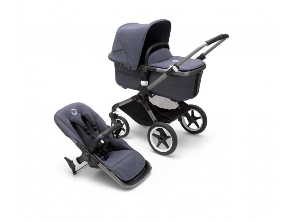 BUGABOO FOX3 COMPLETE GRAPHITE STORMY BLUE STORMY BLUE 1