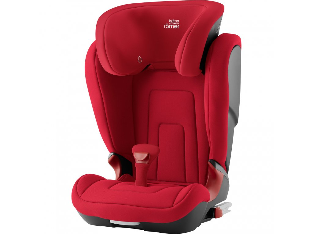 83663 autosedacka kidfix 2 r fire red