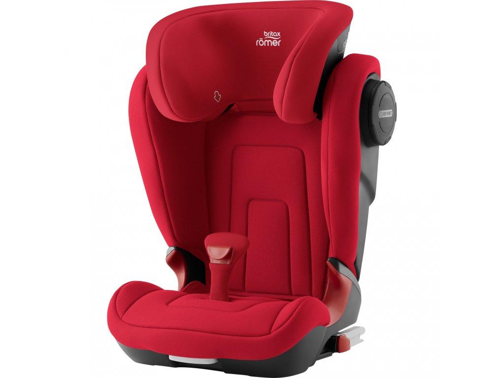83675 autosedacka kidfix 2 s fire red