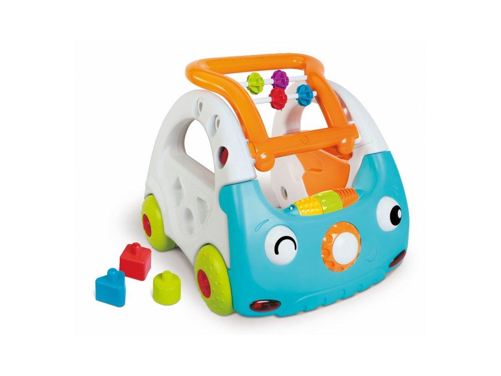 45302 b kids senzoricke choditko auto 3v1 discovery car