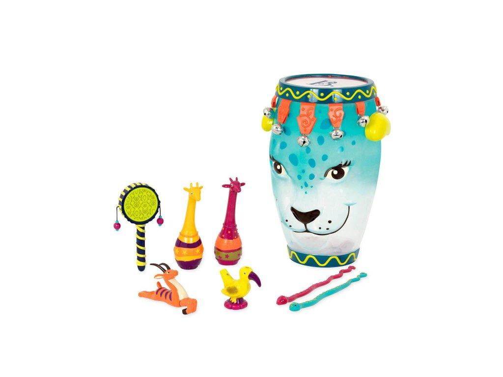 42956 b toys sada hudebnich nastroju jungle jam