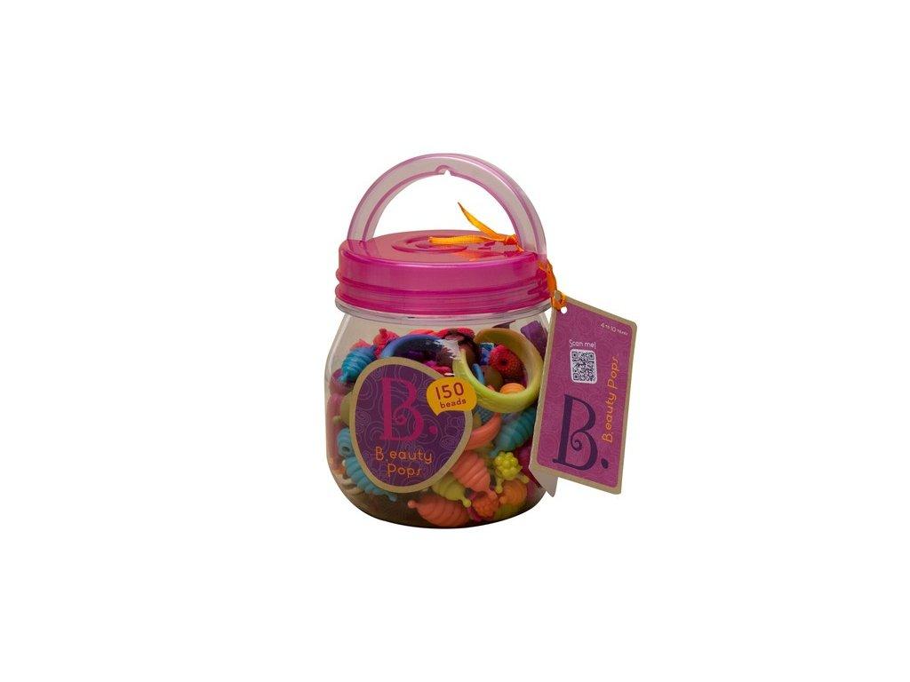 44756 b toys spojovaci korale a tvary pop arty 150 ks