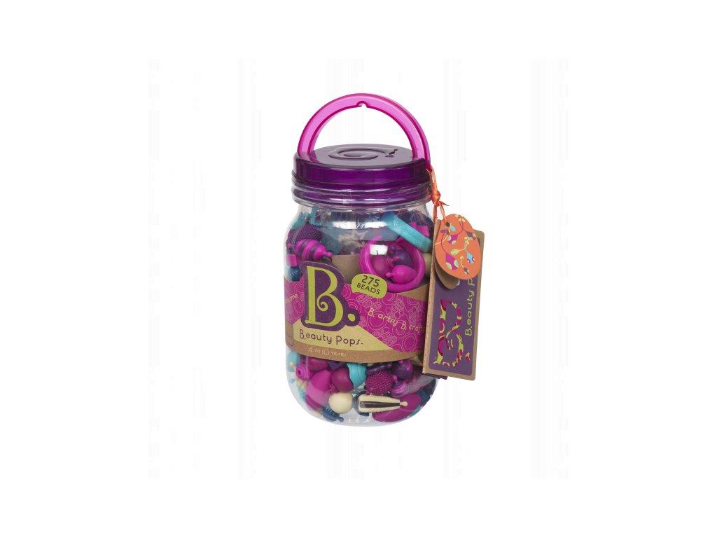47207 b toys spojovaci korale a tvary pop arty 275 ks