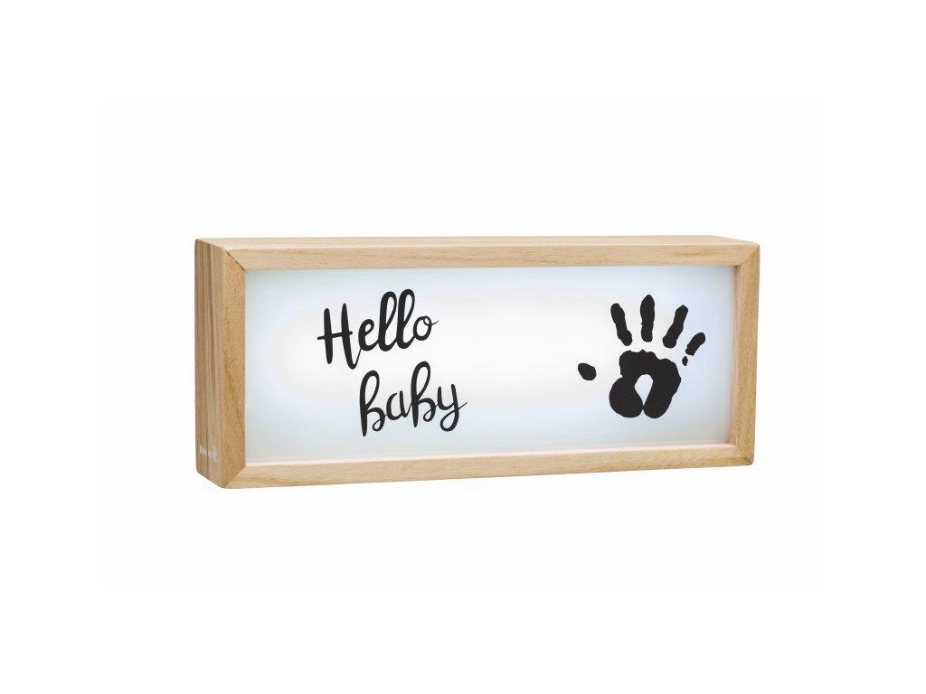 43868 baby art light box with imprint