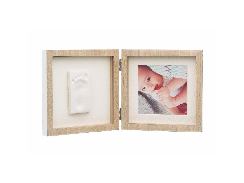 43706 baby art square frame wooden