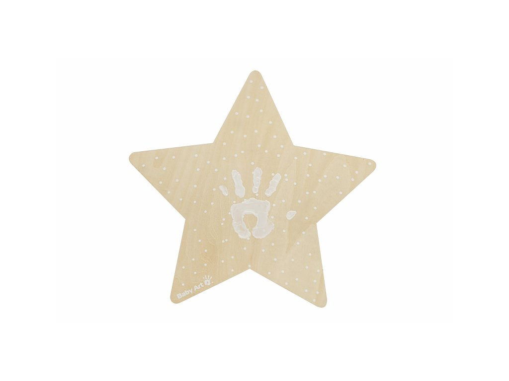 43871 baby art wall light with imprint