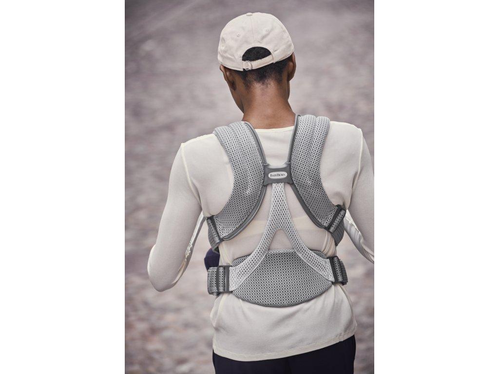 146567 babybjorn ergonom nositko move grey 3d mesh