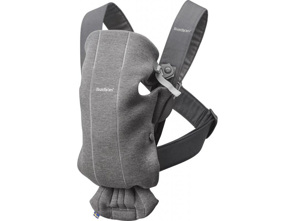 146318 babybjorn nositko mini dark grey 3d jersey