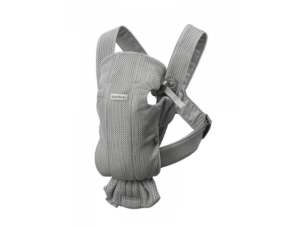 146585 babybjorn nositko mini grey 3d mesh