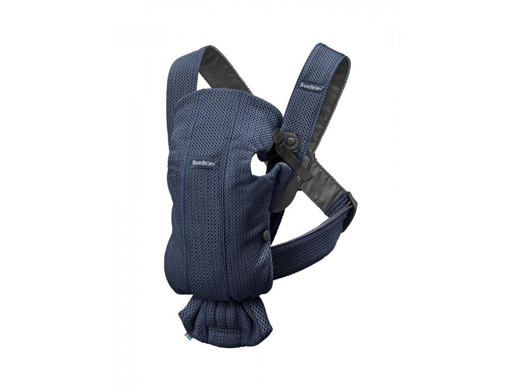 146351 babybjorn nositko mini navy blue 3d mesh