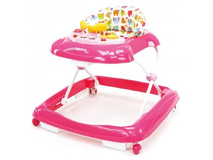 1018170 asalvo baby walker choditko pink elephants