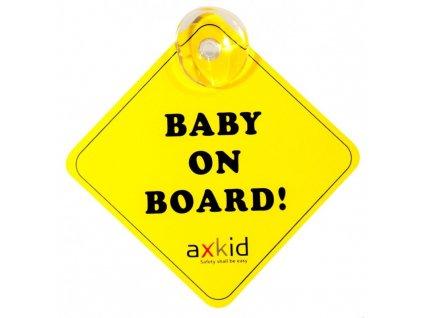 1017837 axkid znacka baby on board