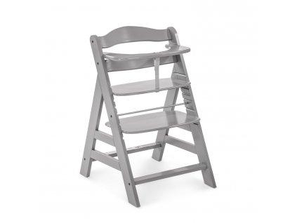 1019406 hauck alpha drevena zidle grey