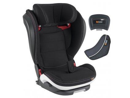 39692 besafe autosedacka 100 150 cm izi flex fix i size black car interior