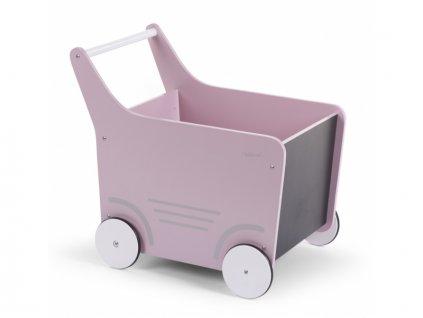 46535 childhome dekorativni kocarek dreveny soft pink