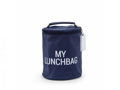 44171 childhome termotaska na jidlo my lunchbag navy white